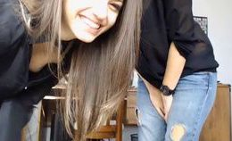 Cute Petite Teen Strips And Plays With Herself-watch Part 2…