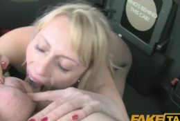 Fake Taxi Anal sex in london taxi