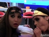 Fake taxi teen round and gorgeous petite brunette first time