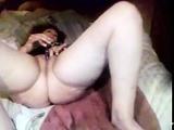 Granny Claudia masturbates so noisy