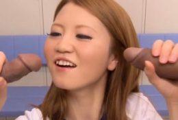 Hot lady Sakamoto Hikari gets tang banged