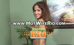 Hot Wife Rio Big Dildo