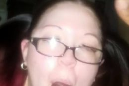 Interracial homemade sex of amateur bbw wife