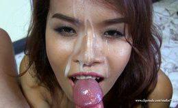 Katsumi Super Close Up Handjob 7
