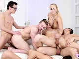 Pussies and asses gets a hard pounding