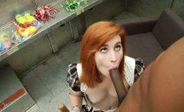 Redhead Likes Ice Cream Nd Bbc