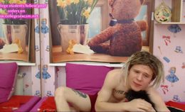 Russian Goth Couple Cam – Submissive Girl Swallow Cum