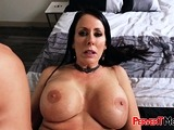 Stepson gets sucked by horny MATURE FEM