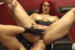 These two kinky babes retire to their sex room