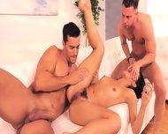 Threesome Sex With Boyfriend And Stepdad