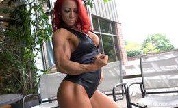 Tia Marie – Muscular Redhead
