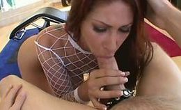 Tiffany Mynx Busty Redhead Anal Milf