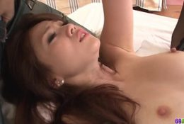 Ameri Ichinose severe fucked by two male – More at 69avs com