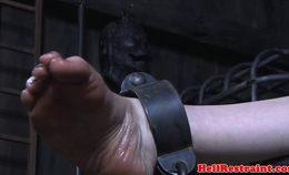 Bastinado Punished Submissive Screams