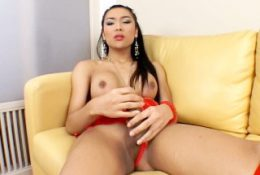 Fanta and her juicy cock