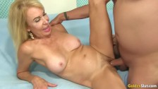 Grandma Takes a Dick in Her Cakehole and Cunt