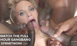 Hot Cristal Caitlin Teasing Pussy Gets Ready For Gangbang