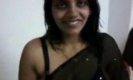 Indian Sexy Wife In Black Saree Www Hotcutiecam Com