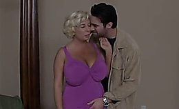 Mature Busty Blonde Fucks Young Stud(1)