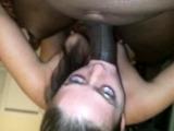 POV interracial sex with naughty blonde