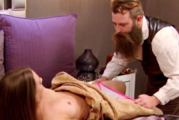 RANDY hipster takes his hot wife to the SWINGER HOUSE
