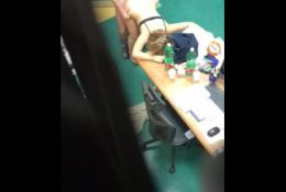 REAL teachers caught fucking by student