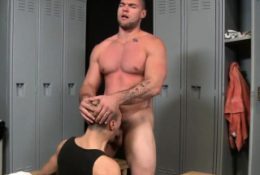 Stud pounded by big dick