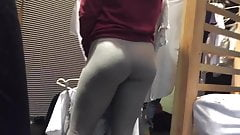 Teen in leggins part 4