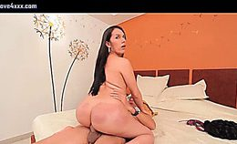 Tranny With Big Ass Gets Rammed