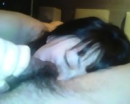 Nice Brunette With Hairy Pussy Likes Sex