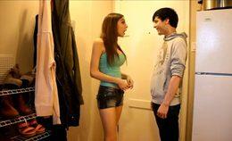 Teens Couple Homemade