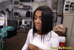 Tiny Latino Teenage Amateur Porno Casting By Big Black Cock