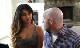 Hot Latina Fucks Her Bff's Dad