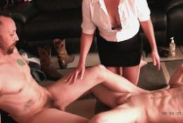 Hottest punting oily hot cock throbber frottage FF friendly cross fire CFNM