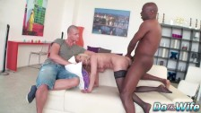Mature Wife Scarlet Mika Shows Her Cuckold How Much She Loves Black Cock