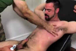 Public place gay porn first time Dolan Wolf Jerked &