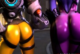 Sexy ass video game heroes riding huge dicks