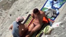 Two Nude Beach Couples Handjobs Voyeur Serie 23