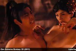Asian Celebs Yukiko Suo, Leni Lan & Saori Hara Nude And Wild Orgy