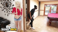 BANGBROS – Young, Skinny White Girl Elsa Jean Taking BBC From Burglar
