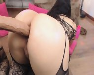 Colombian Busty Girl Sheiyraevansx (22) In Black Lingerie