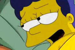 Horny Marge Simpson getting banged just how she likes it