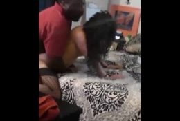 Petite white wife caught cheating on husband with a BBC