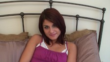 Sexy 19 Year Old Middle Eastern Arab Teen Dahlia Gets Fucked & Swallows Cum