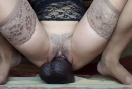 XL Topher BBC Too Big! Take It Out PLEASE. You like destroying my pussy?!