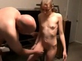 Cute curvy girlfriend blowjob and doggystyle fucking