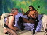 Divine cutie gets meat deep inside mouth and quim