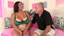 Horny Old Man Pummels Fat Latina Lady Spices Premium Plump Pussy