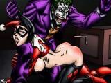 Joker and Harley Quinn hentai parody
