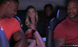 (interracial) Haley Reed Interracial Gangbang